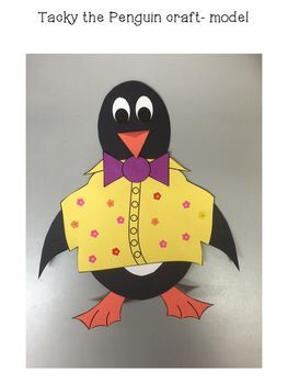 Tacky the Penguin: Reader's Theater, Craft, and Writing Bundle