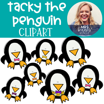 Tacky the Penguin Style Clipart