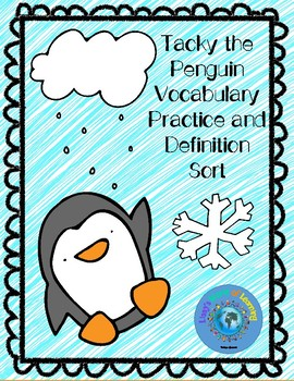 Tacky the Penguin Vocabulary Practice and Context Clues