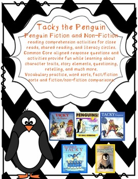 Tacky the Penguin Vocabulary Practice