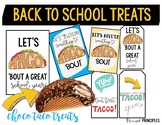 Taco Bar and Treats for Staff (Back to School)