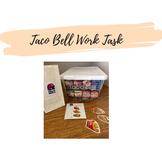 Taco Bell Work Task