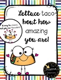 Teacher Appreciation Gift Tags - Taco Bout It and Mexcellent - Editable Text!