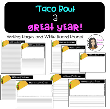 Taco 'Bout a Great Year! End of the year Writing