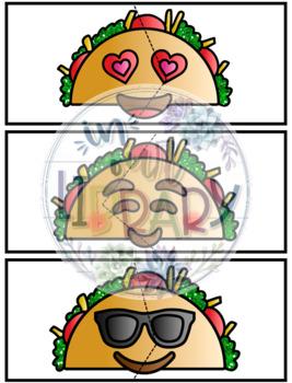Taco Emoji Partner Cards