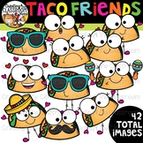 Taco Friends Clipart {Taco Clipart}