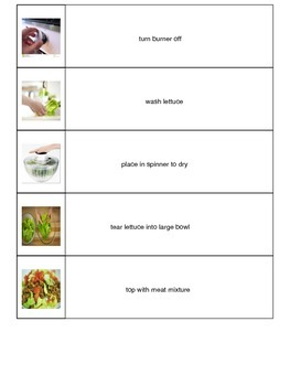 Taco Salad Visual Recipe