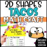 2D Shapes Activities | 2D Shape Craft Tacos