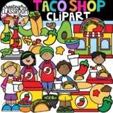 Taco Shop Clipart {Taco Clipart}