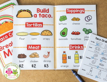 Taco Shop Dramatic Play Set | Dramatic Play Printables for ...