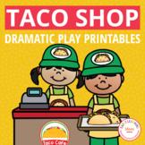 Taco Shop Dramatic Play Set | Dramatic Play Printables for Preschool & Pre-K