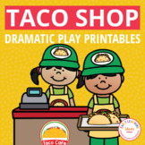 Dramatic Play Center for Preschool and PreK | Taco Restaurant Pretend Play Set