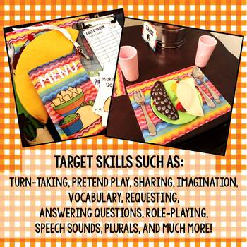 Taco Stand Dramatic Play Center Educator & Parent Kit