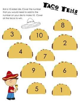 Taco Tens Game 1.OA.6