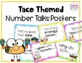 Taco Themed Number Talk Posters