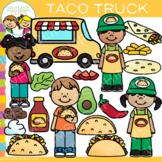 Taco Truck Clip Art