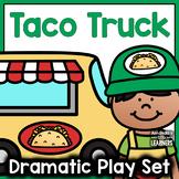 Taco Truck Dramatic Play Set