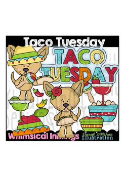 Taco Tuesday Clipart Collection