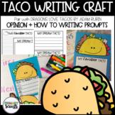 Taco Writing Craft Activity, K-3 - Dragons Love Tacos