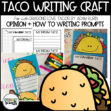 Taco Writing Activity, K-3