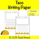 Taco Writing Paper