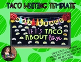 Taco Writing Template