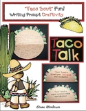 """End of the Year & Back to School Writing Prompt Craft """"Taco 'bout Fun!"""""""