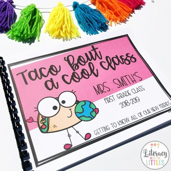 Taco 'bout a cool class {Class Book for the Beginning of the Year}