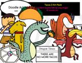 Tacos 2 Clip Art Pack