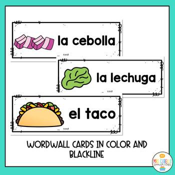 Tacos in Spanish - Bundle