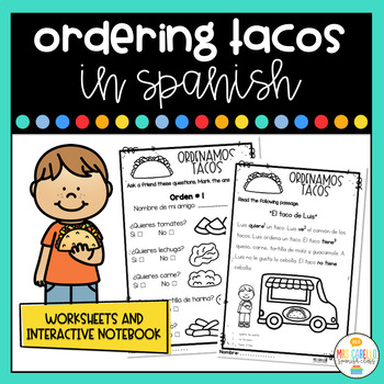 Tacos in Spanish - Worksheets
