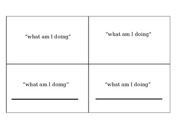 Tact Action 3x5 cards Template