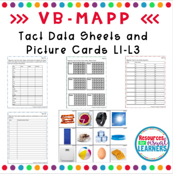 Tact Data Sheet and Picture Cards Aligned to VB-MAPP