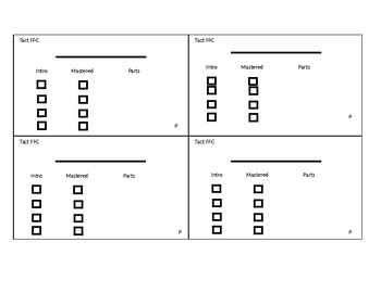 Tact Parts 3x5 cards Template