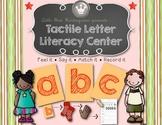 Tactile Letter Literacy Center