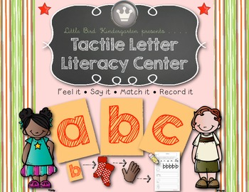 Tactile Letter Literacy Center