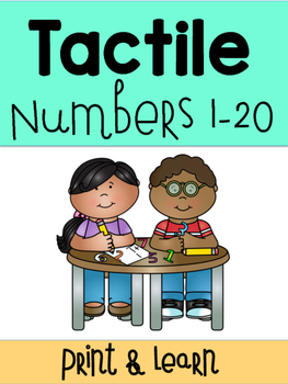 Tactile Numbers 0-20
