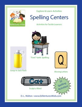 Tactile Spelling Centers