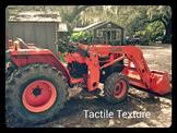 Tactile texture vs Visual Texture