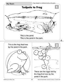 Tadpole to Frog (Life Science/Life Cycle-Frogs)