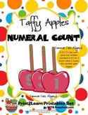 Taffy Apples Numeral Count {Common Core Aligned}
