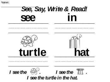 Taffy the Turtle BUNDLE: Reading, Math & Interactive Read-Along ALL IN ONE!