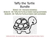 Taffy the Turtle BUNDLE: Reading, Math & Interactive Read-