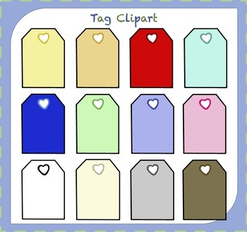 Tag Clipart / Tags Clipart