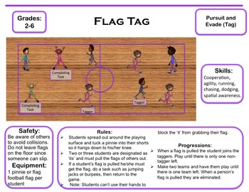 Tag Games: Pursuit and Evade Activities