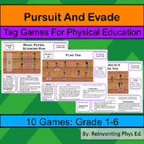 10 Tag Games: Physical Education Game: Physed
