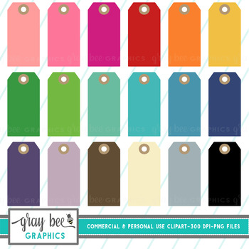 Tag-Gift Tag Clip Art Pack