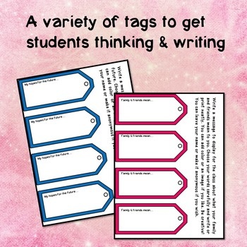 Tag It! Write Your Thoughts on Luggage Tags for Display