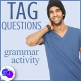 Tag Question Matching: Grammar Activity