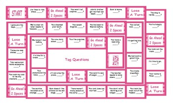 Tag Questions Board Game